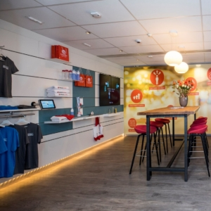 Instore experience centre
